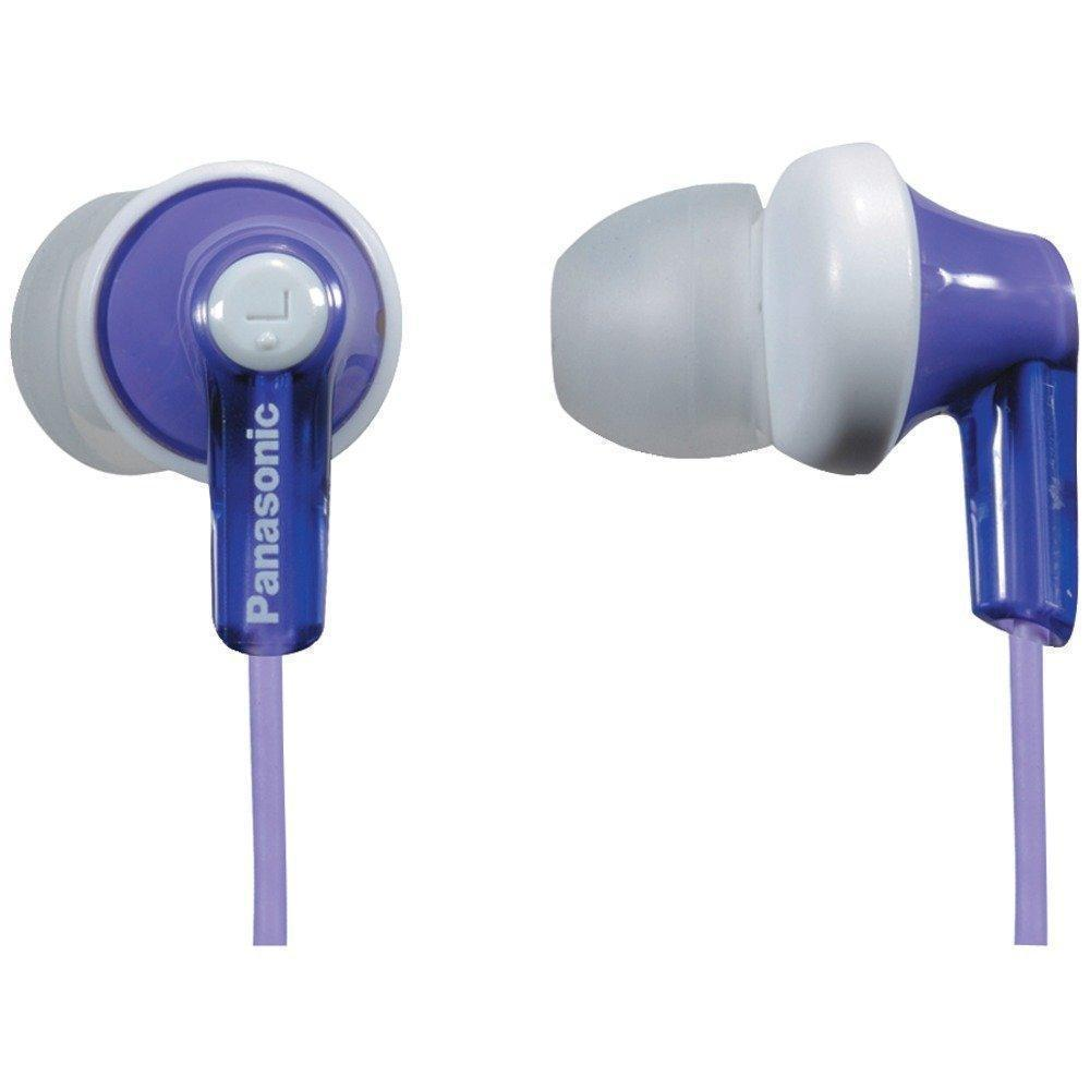 Daily Steals-Panasonic ErgoFit In-Ear Headphones with Ergonomic Comfort-Fit Design-Headphones-Purple-1 pack-