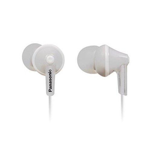 Daily Steals-Panasonic ErgoFit In-Ear Headphones with Ergonomic Comfort-Fit Design-Headphones-White-1 pack-