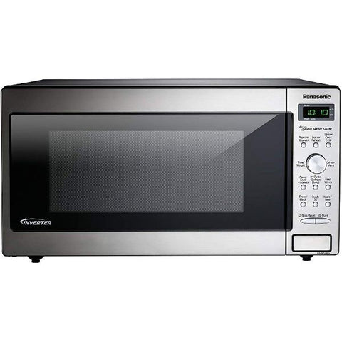 Daily Steals-PANASONIC Compact Microwave Oven Built In / Countertop with Inverter Technology and 1250W of Cooking Power - 1.6 cu. Ft-Kitchen-