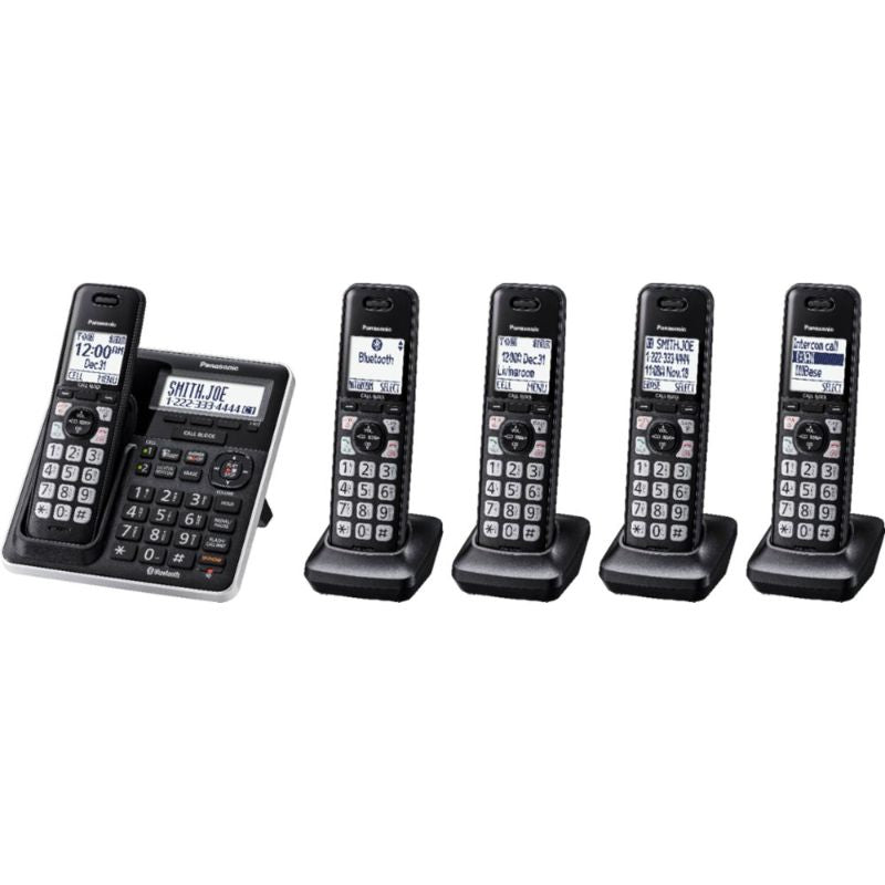 Panasonic Link2Cell DECT 6.0 Expandable Cordless Phone System-Daily Steals
