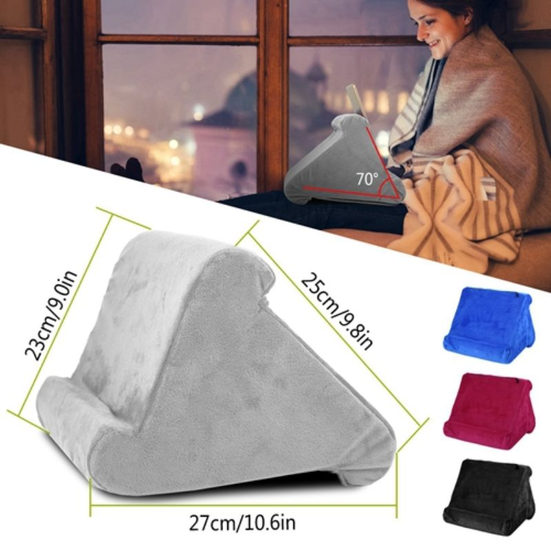Soft Pillow Pad Tablet Stand with 3 Viewing Angles