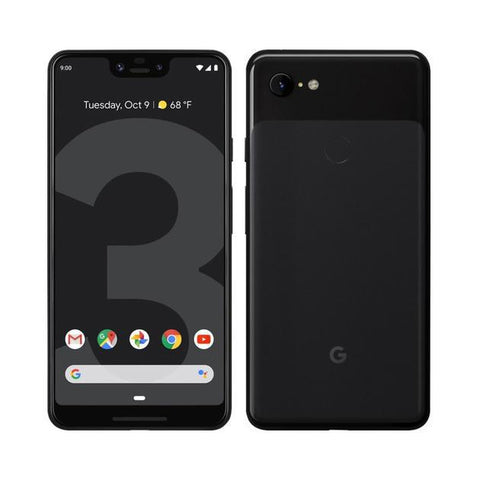 Daily Steals-Google Pixel 3 or 3 XL 64GB Verizon and GSM Unlocked - Just Black-Cellphones-Pixel 3-