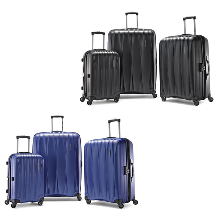 "American Tourister Arona Premium Hardside Spinner 3-Piece Luggage Set - 20"", 25"", 29""-Daily Steals"