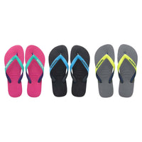 Daily Steals-Havaianas H. Top Mix Sandals for Men and Women-Accessories-Grey-6 Womens/ 5 Mens-