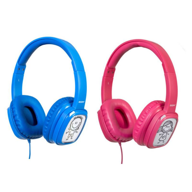 Deco Gear Kids Over-Ear Customizable Doodle Headphones with Safe Ears Volume Limiter-Daily Steals