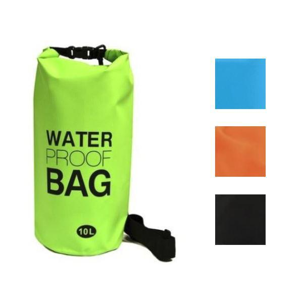 Waterproof 10-Liter Dry Bag with Shoulder Strap-Daily Steals