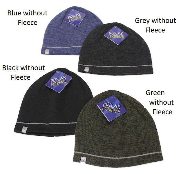 Polar Extreme Thermal Insulated Stocking Beanie Cap-Black without Fleece-Daily Steals