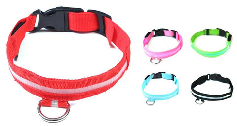 EZ-PET LED Light Safety Pet Collar – Visible up to 1,000ft