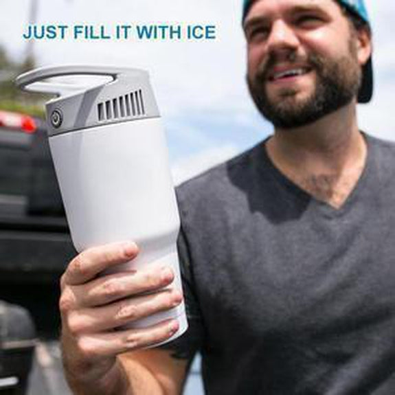 2-in-1 Personal Cooling and Heating Bottle-Daily Steals