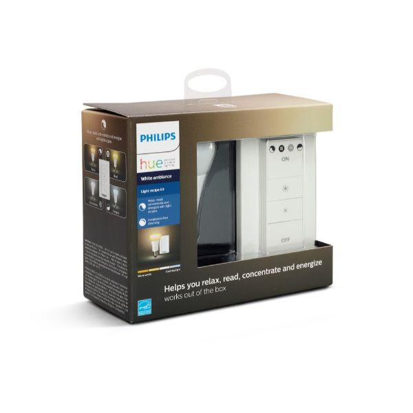 Philips Hue Smart Dimmable LED Light Recipe Kit - Works with Alexa Apple HomeKit and Google Assistant-Daily Steals