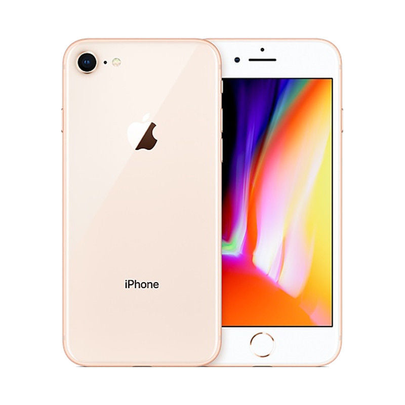 Daily Steals-Apple iPhone 8 64GB - AT&T Locked-Cellphones (refurbished)-Gold-