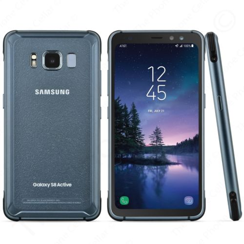 Samsung Galaxy S8 Active 64GB GSM Unlocked Smartphone-Meteor Gray-Daily Steals