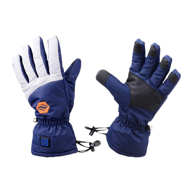 Stay Warm Apparel Original Heated Gloves With Rechargeable Batteries-S/M-Daily Steals