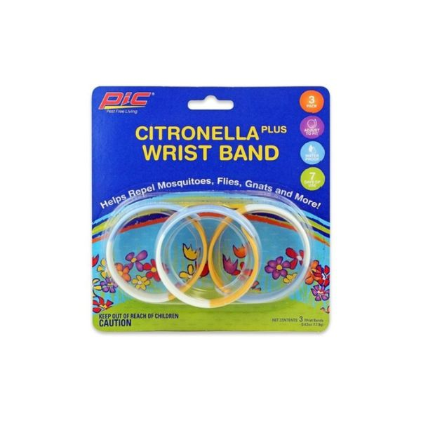 Pic Mosquito Repellent Waterproof Adjustable Wristband - Choice of 6, 12, 18 or 36 Bands-Daily Steals