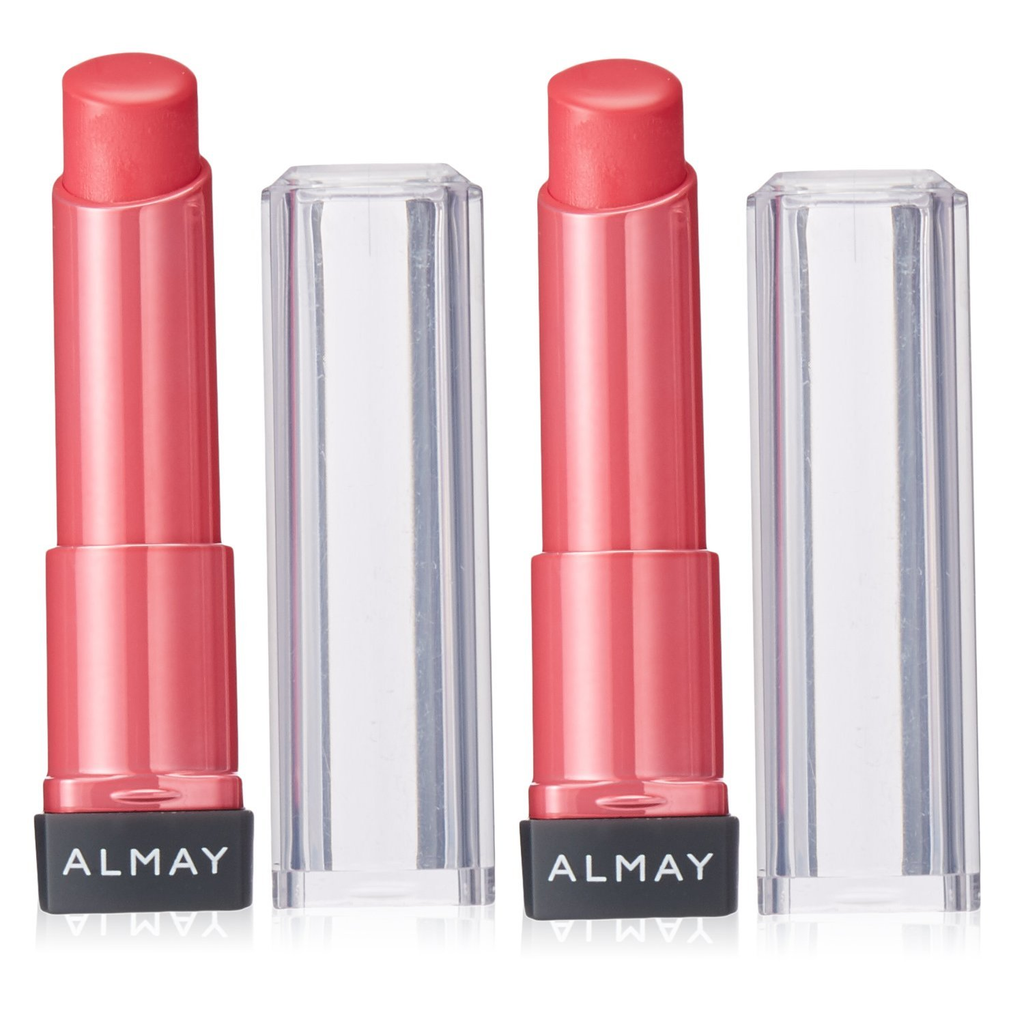 [2-Pack] Almay Smart Shade Butter Kiss Lipstick-60 Pink - Light/Medium-Daily Steals