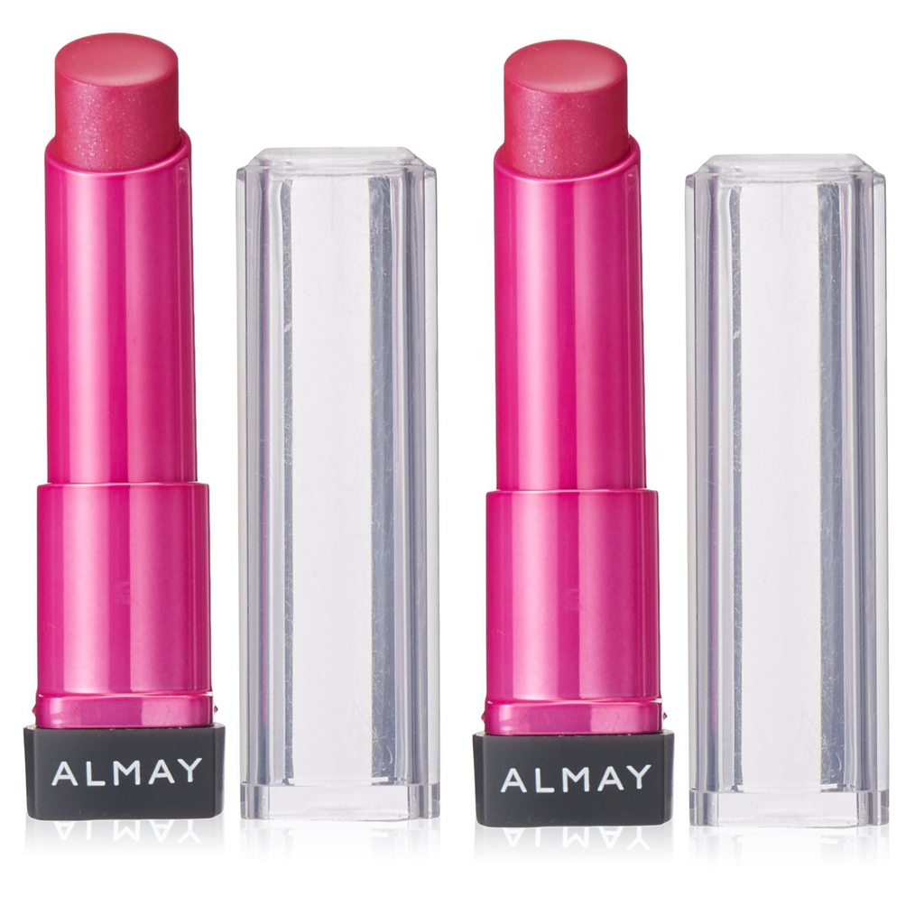 [2-Pack] Almay Smart Shade Butter Kiss Lipstick-100 Pink - Medium-Daily Steals