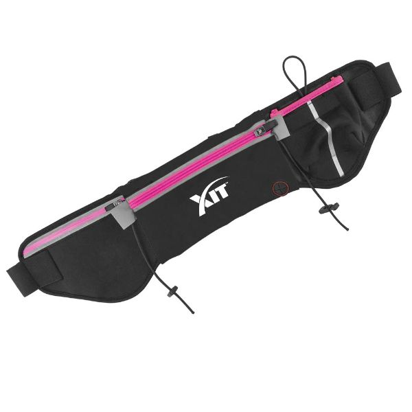 Running Fanny Pack with Water Bottle Holder-Pink-Daily Steals