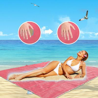 Pink Sandless Beach Mat-Daily Steals