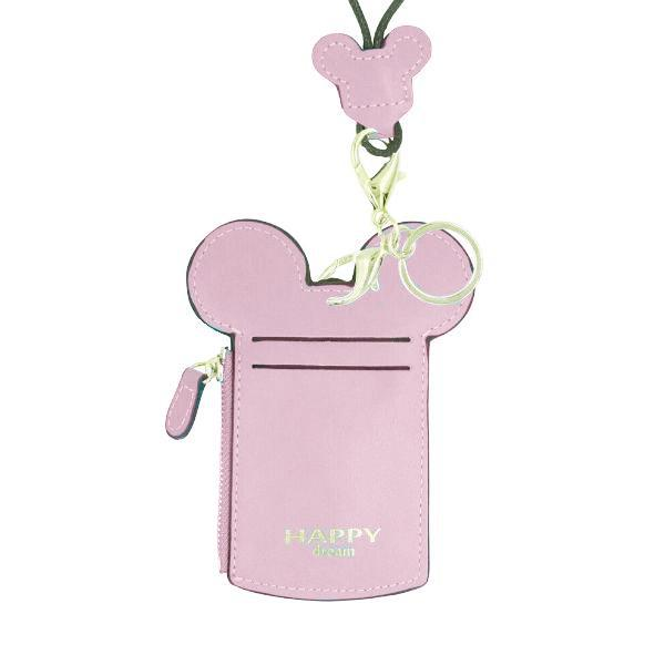 Theme Park Ticket Holder and ID Card Necklace - 6 Colors-Pink-Daily Steals