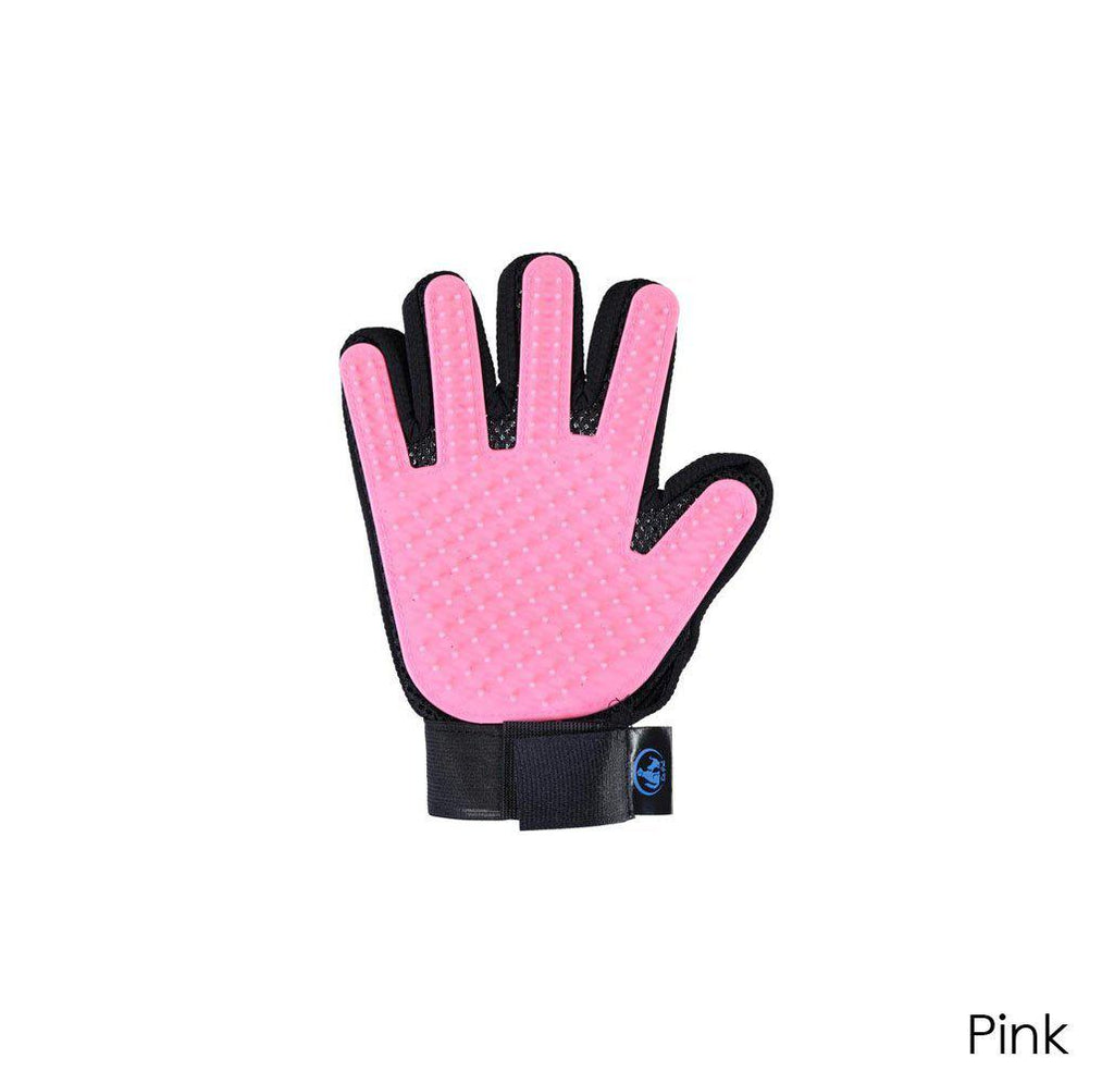 Ez-Pet Grooming Glove (1-Pair)-Pink-Daily Steals