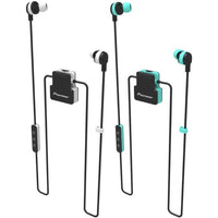 Pioneer Active in-Ear Wireless Headphones with Integrated Clip-Green-