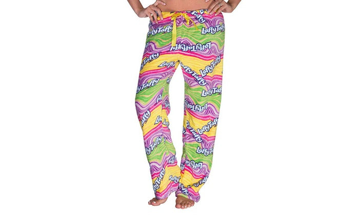 Nestle Plush Lounge Pants (Plus Size Available)-XX-Large-Laffy Taffy-Daily Steals