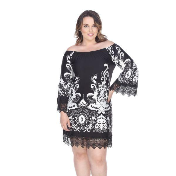 Daily Steals-Plus Size 'Uniss' Dress-Women's Apparel-Black-XL-