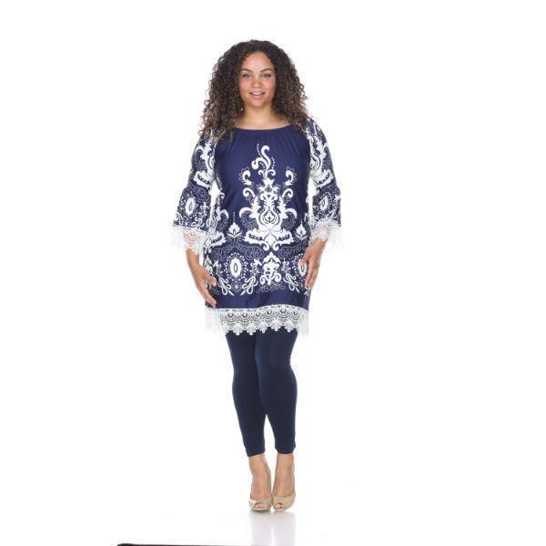 Daily Steals-Plus Size 'Uniss' Dress-Women's Apparel-Navy-XL-