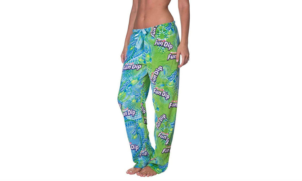 Nestle Plush Lounge Pants (Plus Size Available)-XX-Large-Fun Dip-Daily Steals