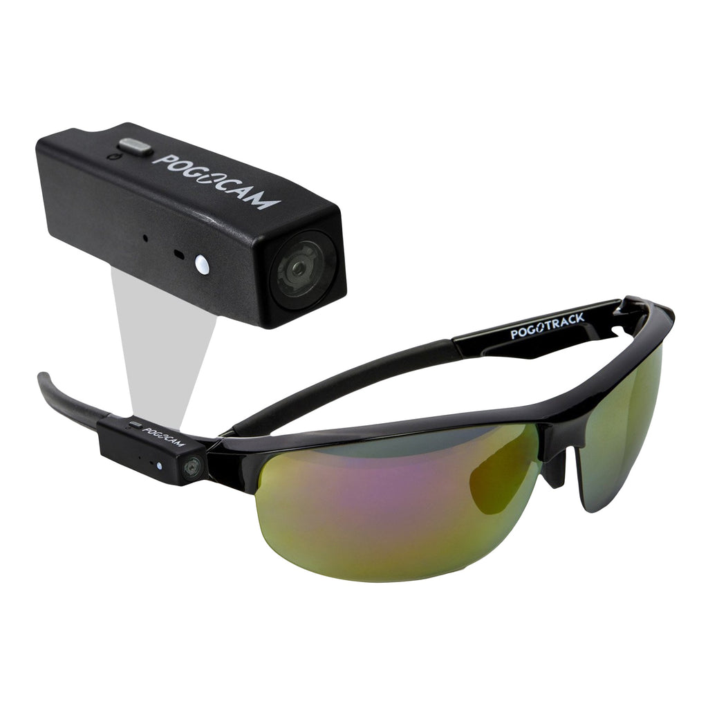 PogoCam Wearable HD Camera with PogoTrack Magnetic Sunglasses-Daily Steals
