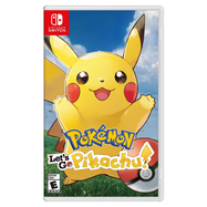 Pokemon: Let's Go (Pikachu or Eevee) - For Nintendo Switch-Let's Go Pikachu!-Daily Steals