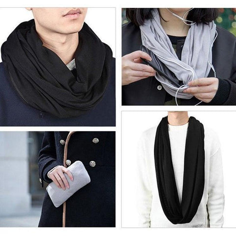 Daily Steals-Pocket Scarf-Accessories-Pink-