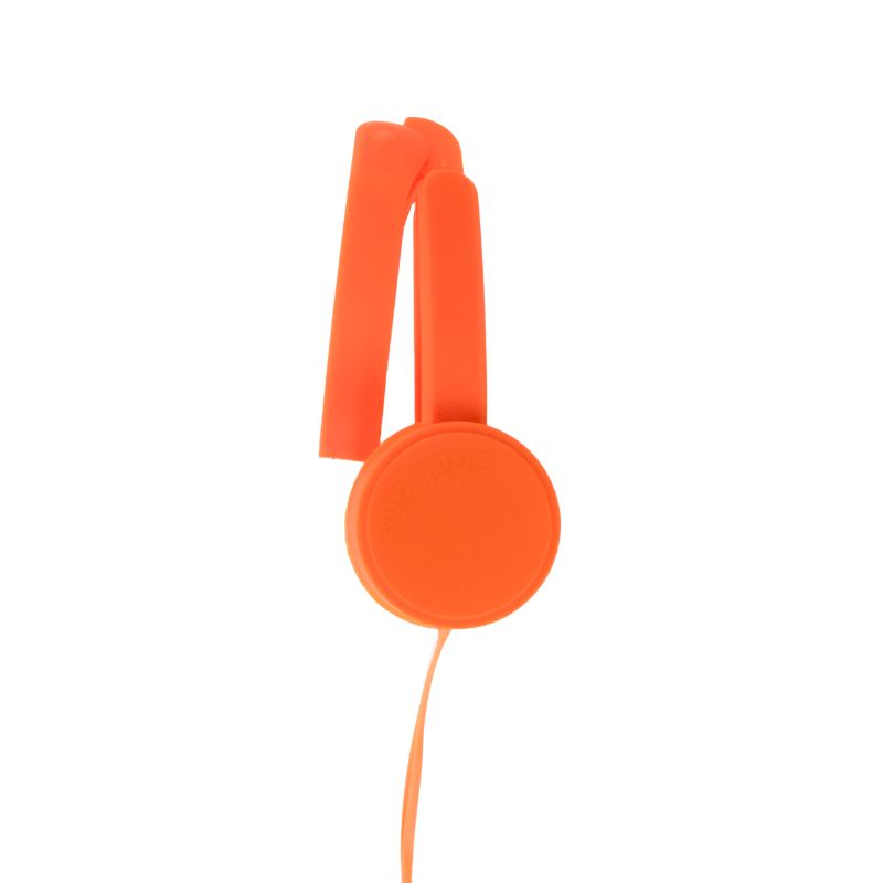 POP TONE Comfort Headphones with Tangle-Free Flat Wires-Daily Steals