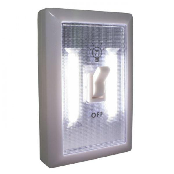 Daily Steals-Portable LED Ultra Bright Light Switch - 4 Pack-Home and Office Essentials-