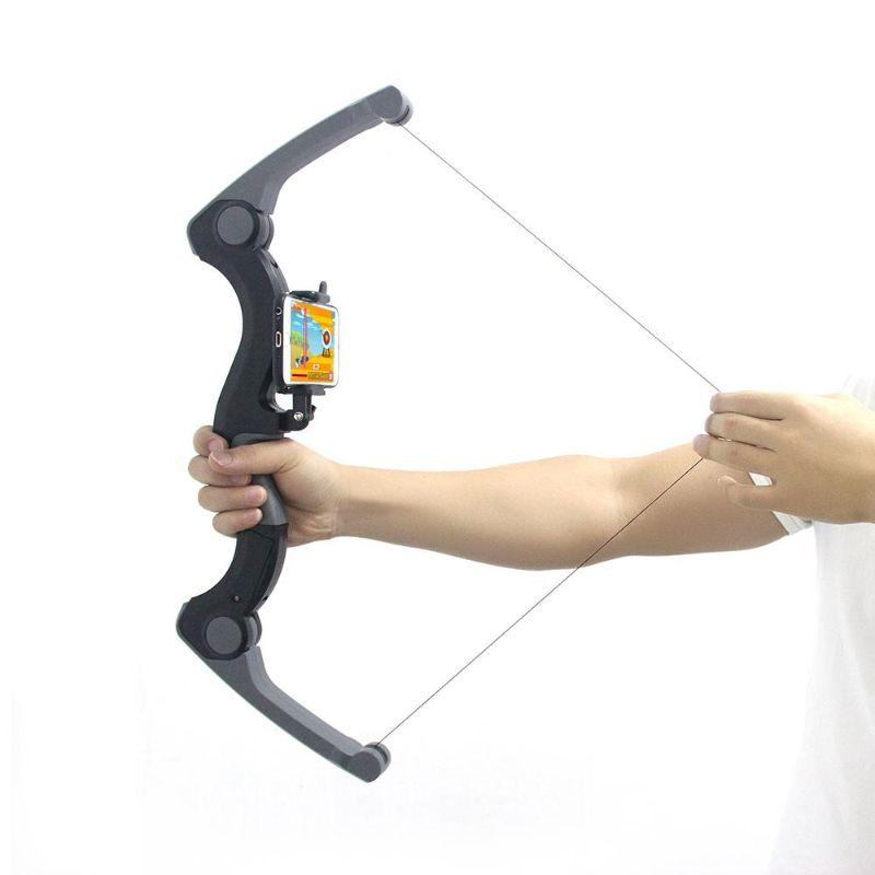 Portable Virtual Gaming Bow with App for iOS and Android-