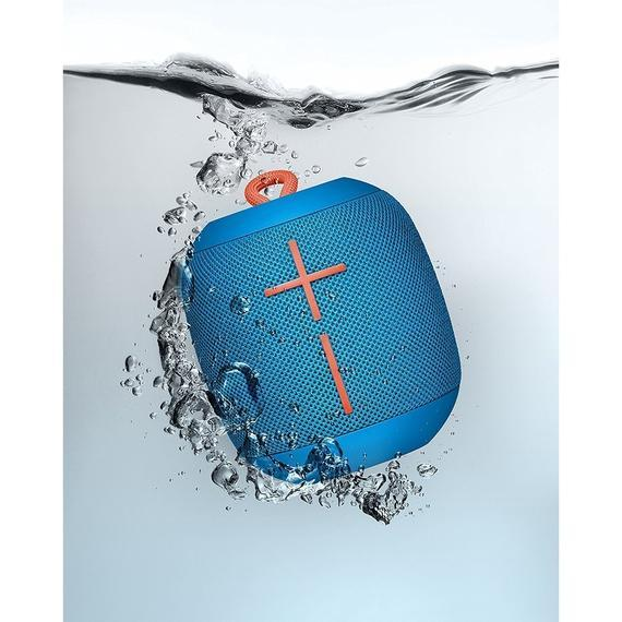 Daily Steals-Portable Waterproof Bluetooth, WONDERBOOM Speaker, Subzero Blue-Speakers (refurbished)-