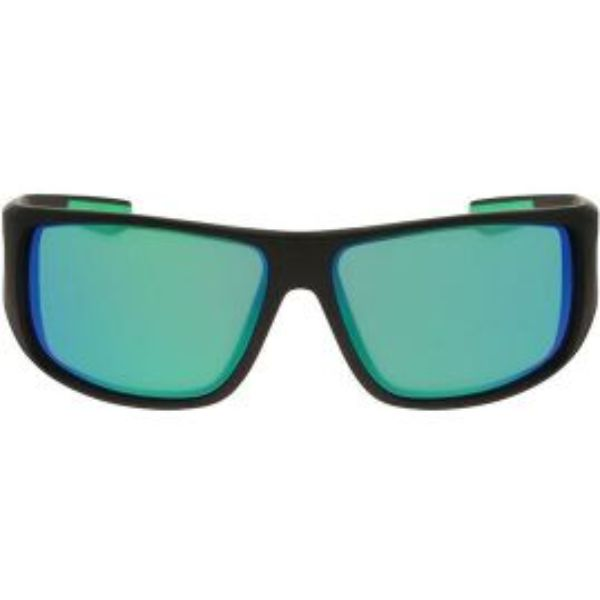 Daily Steals-Dragon Alliance Waterman X Polarized Men's Floatable Sport Sunglasses-Men's Accessories-Matte Black/Green (051)-