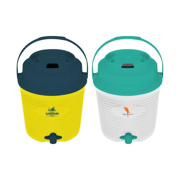 Margaritaville or Landshark Drink Dispensing Cooler with Speaker-Daily Steals