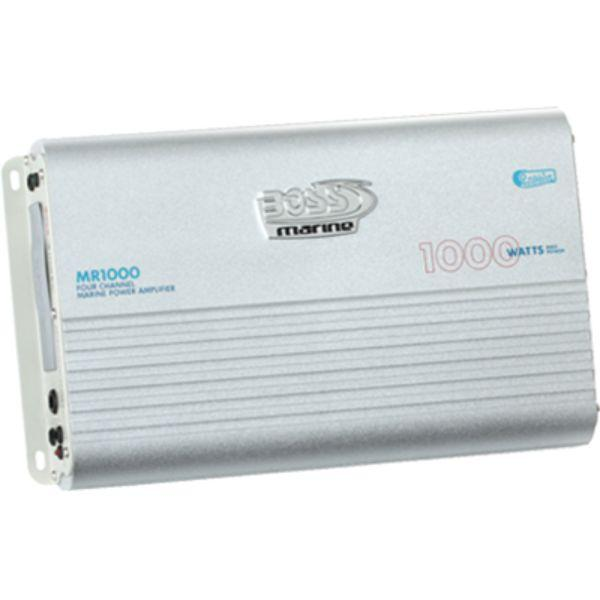 Daily Steals-Power Amplifier, 1000 Watt, 4 Channel By Boss Audio-Marine-