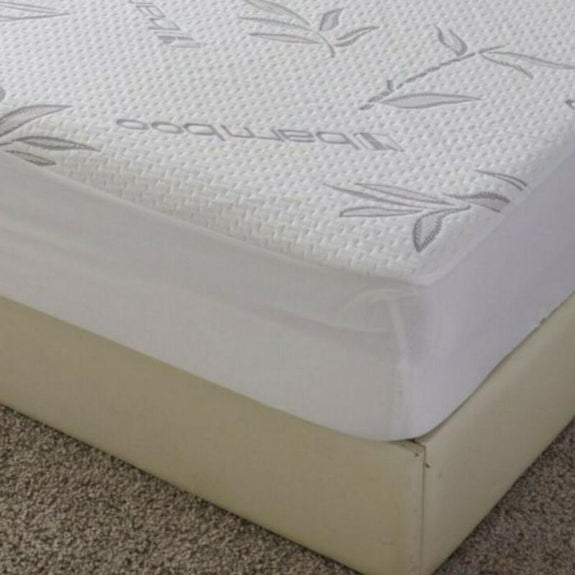 Premium Bamboo Waterproof Fitted Mattress Protector-Daily Steals