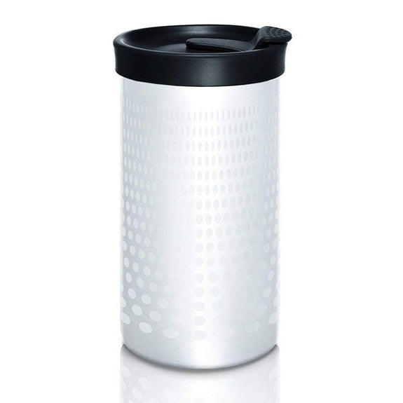 PRESSE by Bobble French Coffee Press & Insulated Tumbler, 13oz - 2 Pack-