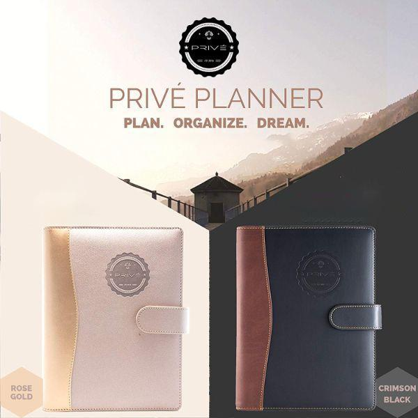 Privé Planner: Daily Planner, Calendar, Journal, and Organizer-Daily Steals