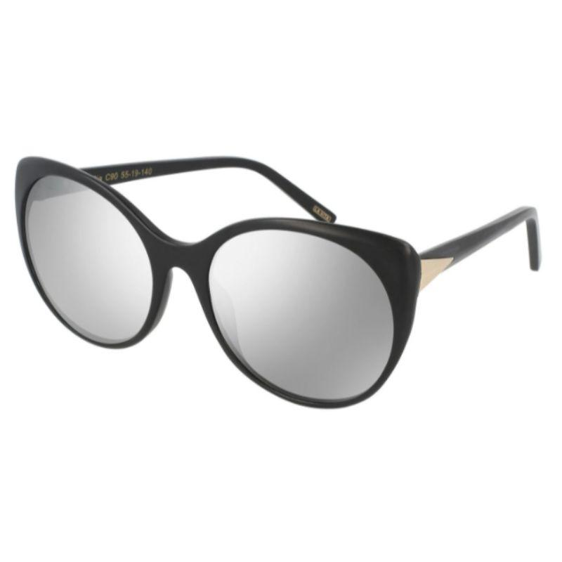Prive Women's Sunglasses - The Pia in Black - 55/140/19-