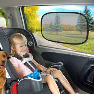 Super Car Sun Static Cling Auto Window Shades, UV Protection, 2 Pack-Daily Steals