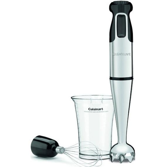 Daily Steals-Cuisinart HB-155PC Smart Stick Stainless Steel Hand Blender with Whisk-Hand Blender with Whisk-