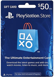 Sony PlayStation Network Card-$50-Daily Steals