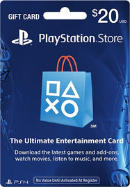 Sony PlayStation Network Card-$20-Daily Steals