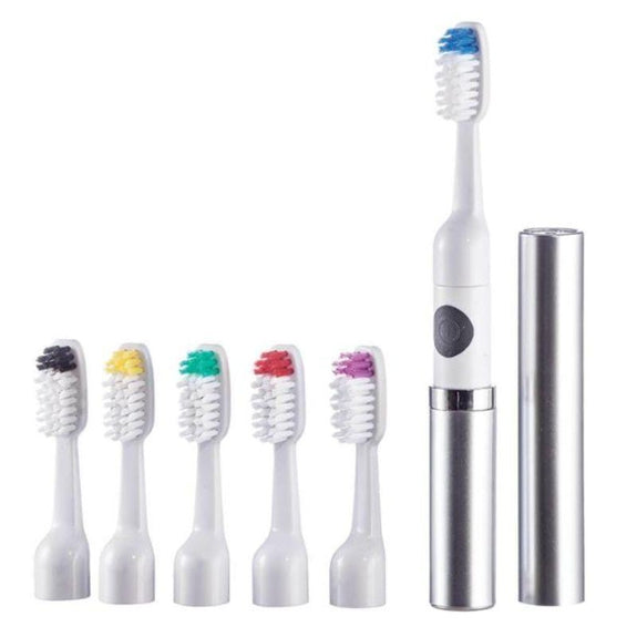 Vivitar Sonic Ultra Toothbrush with 6 Brush Heads-Daily Steals