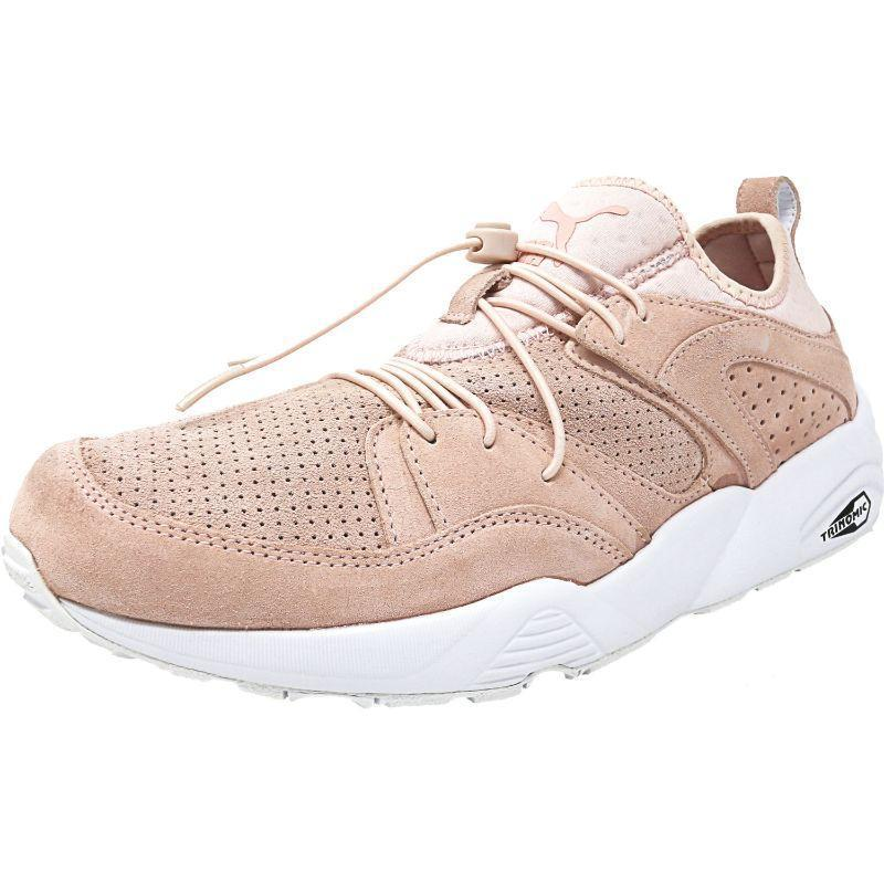 Daily Steals-Puma Men's Blaze Of Glory Ankle-High Suede Running Shoe-Men's Accessories-Pink-9-