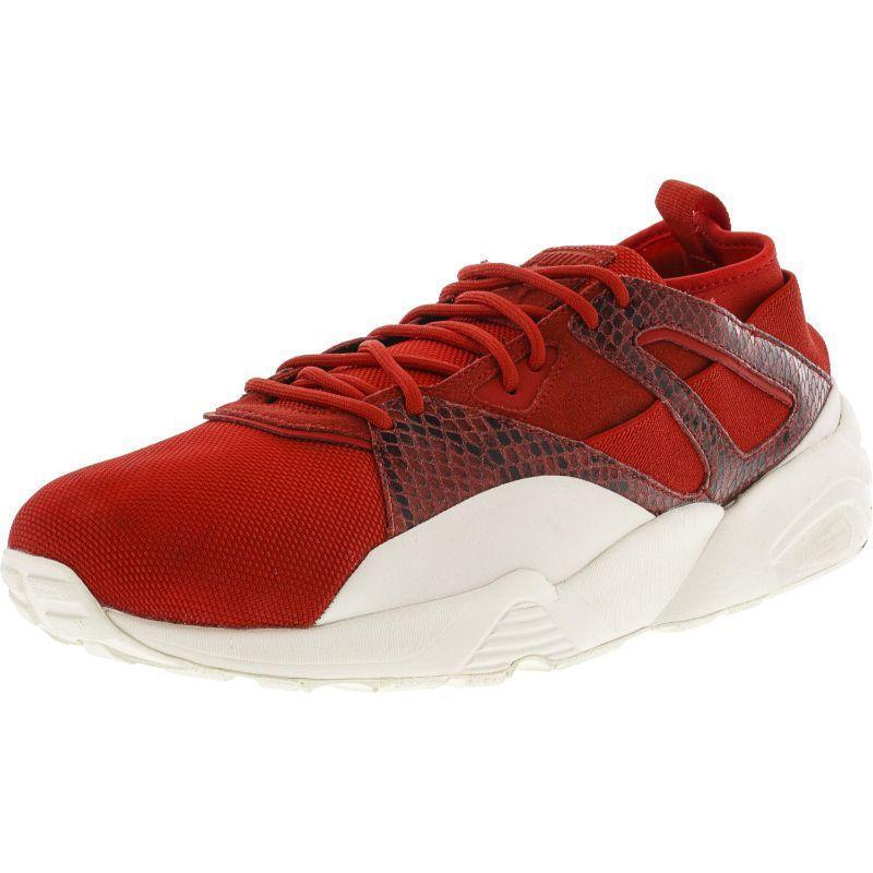 Daily Steals-Puma Men's B.O.G Sock Snake Ankle-High Running Shoe-Men's Accessories-Red-7-